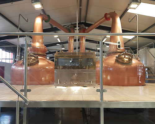 Copper distillery products